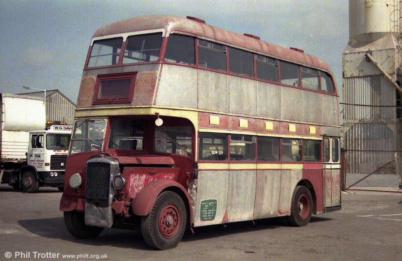 A rare survivor is former United Welsh 1233 (GCY 740), a 1950 Daimler CVD6/Bruce H30/26RD new to Swan Motor Services and taken over by UW in 1952.