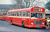 615 (NWN 458F), a 1968 Bristol RELL6G/ECW B53F formerly with United Welsh and seen at Neath.