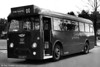 <DIV ALIGN=left>1824 (404 BCY), a 1962 AEC Reliance/Marshall B45F for Townhill services. These updated versions of the AEC Reliance, but with a much more plain 45 seat bodywork design, followed in 1960, 1961 and in 1962. For the technically minded, these were fitted with what was known as 'dry sump' lubrication with a separate lubricating oil tank, to prevent oil starvation on the hill. Curiously, certain of these vehicles later carried advertisements for a furniture store pasted flat on their roofs. Also in 1961, the Reliances used on Townhill were renumbered in the 1800 series to distinguish them from similar buses not equipped for the hill.</DIV>