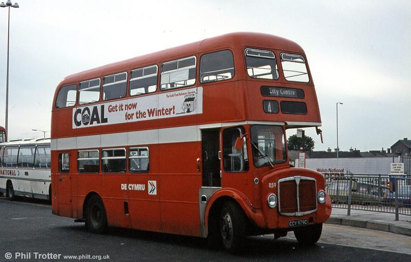 AEC Regent V/Willowbrook H37/27F 859 (CCY 979C).