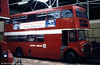 AEC Regent V/Willowbrook H39/32F 584 (152 FCY) seen in store pending disposal.