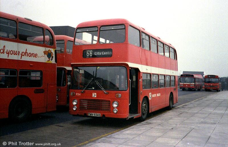 Bristol VRT SL3/ECW H43/31F 934 (TWN 934S).
