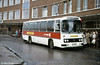 Leyland Leopard/Willowbrook C51F 483 (BTH 483V) with 'Citylinker' plates at Cardiff.