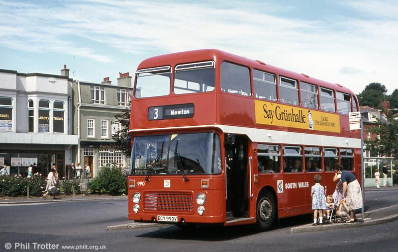 Bristol VRT SL3/ECW H43/31F 990 (ECY 990V).
