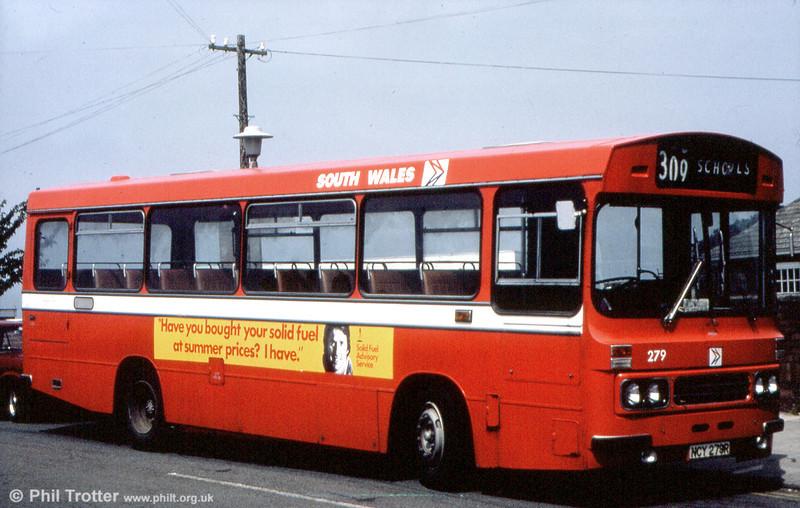 Ford R1014/Duple B43F 279 (NCY 279R).