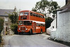 AEC Regent V/Willowbrook H37/27F 869 (CCY 989C) at Plough Corner, Murton.
