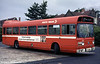 Leyland National B52F 762 (JTH 762P) in original condition.
