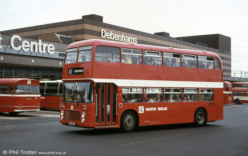 Bristol VRT SL3/ECW H43/31F 966 (BEP 966V).