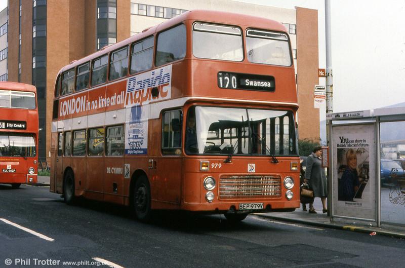 Bristol VRT SL3/ECW H43/31F 979 (BEP 979V).