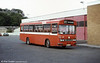 Ford R1014/Duple B43F 279 (NCY 279R) at Haverfordwest.