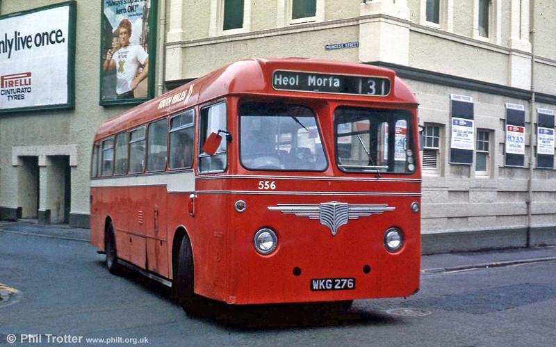 556 (WKG 276) a former Western Welsh AEC Reliance/Willowbrook DP41F.