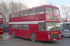 Bristol VRT SL3/ECW H43/31F 922 (RTH 922S) in service with Arena, Speke (1990-1991).