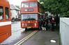 Bristol VRT SL3/ECW H43/31F 992 (EWN 992V) on schools work.