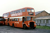 The last numerically of the AEC Regent Vs/Willowbrook H37/27F was former 645, later 895 (GWN 873E), seen here at Neath after withdrawal.