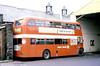 AEC Regent V/Willowbrook H39/32F 581 (149 FCY) at Llanelli.