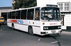 104 (LCY 104X), a 1981 Leyland Leopard/Willowbrook 003 C49F in the original style of Expresswest livery at Bristol.