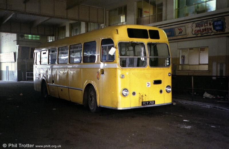Bristol MW6G/ECW B45F 9 (WCY 701), formerly 380.