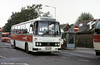 174 (BTH 482V) a Leyland Leopard/Willowbrook C51F at Llanelli in its original livery.