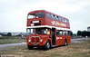 AEC Regent V/Park Royal H39/32F 598 (431 HCY) in use as a waiting room at the 1980 National Eisteddfod at Gowerton.