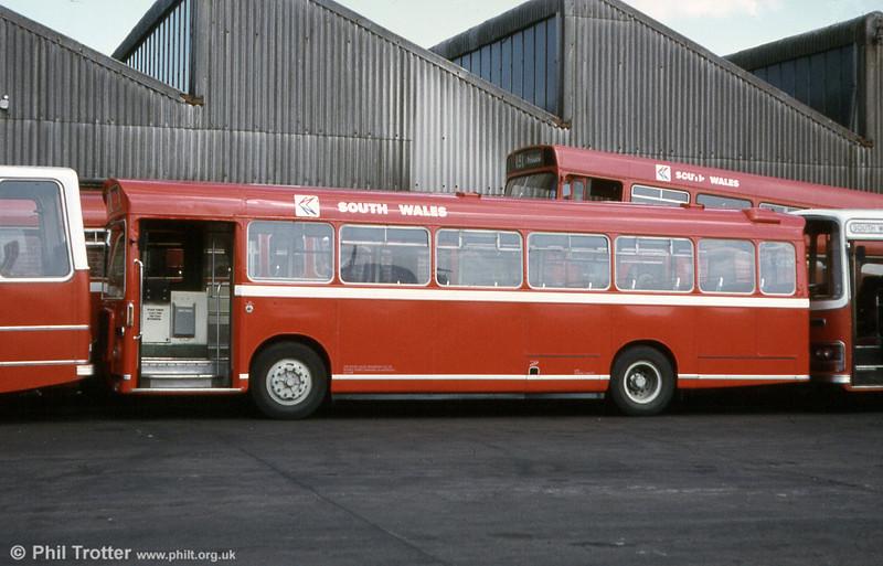 651 (THU 357G) a Bristol RESL6G/ECW B43F obtained from Bristol (511) in 1980.