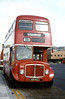 855 (438 HCY), a 1964 Regent V 2D3RA with Willowbrook H39/32F, at the Quadrant Bus Station.