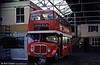 AEC Regent V/Park Royal H39/32F 598 (431 HCY) in later use as staff accomodation at Gorseinon depot.