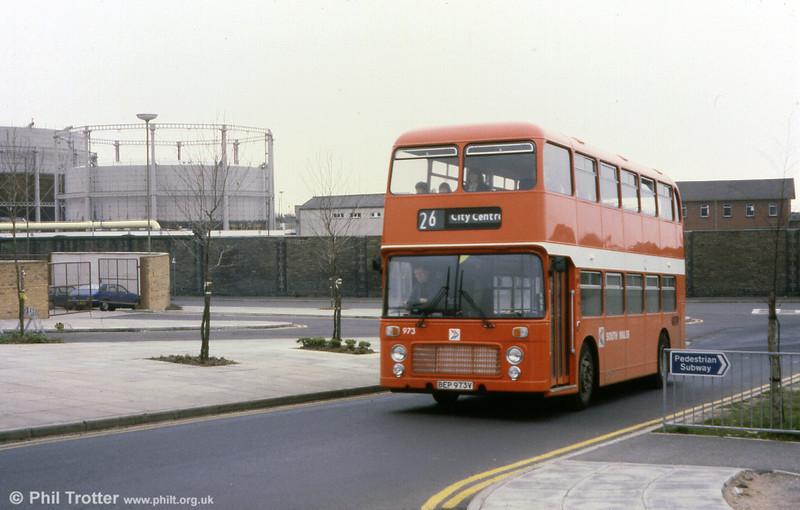 Bristol VRT SL3/ECW H43/31F 973 (BEP 973V).