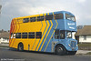1964 AEC Regent V/Weymann H39/32F 590 (423 HCY) newly converted for use as an 'exhibus'.