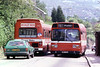 Leyland National B52F 743 (TWN 743N) and 735 (TCY 735M) on Townhill.