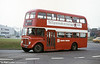 1965 AEC Regent V/Willowbrook H37/27F 863 (CCY 983C) leans to the curve at Caereithin Cross during 1980. Ravenhill depot is in the background. The last Regent Vs at SWT ran at the end of February 1982. Although allocated mainly to route 14, the last five survivors also saw service on routes elsewhere in Swansea, one (881) even straying as far as Bridgend on February 15 as a substitute vehicle on service X1!