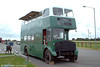 An offside shot of former AEC Regent V/Willowbrook 886 (GWN 864D) at Withybush Airfield. These two vehicles are now approaching 40 years old and last saw active service as far back as 1982. 6th August 2005.
