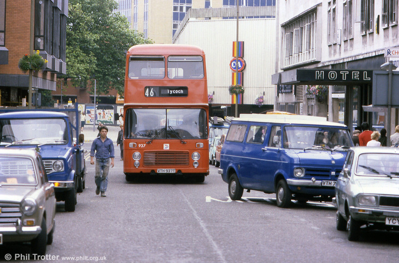 Bristol VRT SL3/ECW H43/31F 937 (VTH 937T).