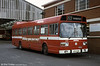 Leyland National B52F 777 (JTH 777P) with Afanway (Port Talbot) branding.