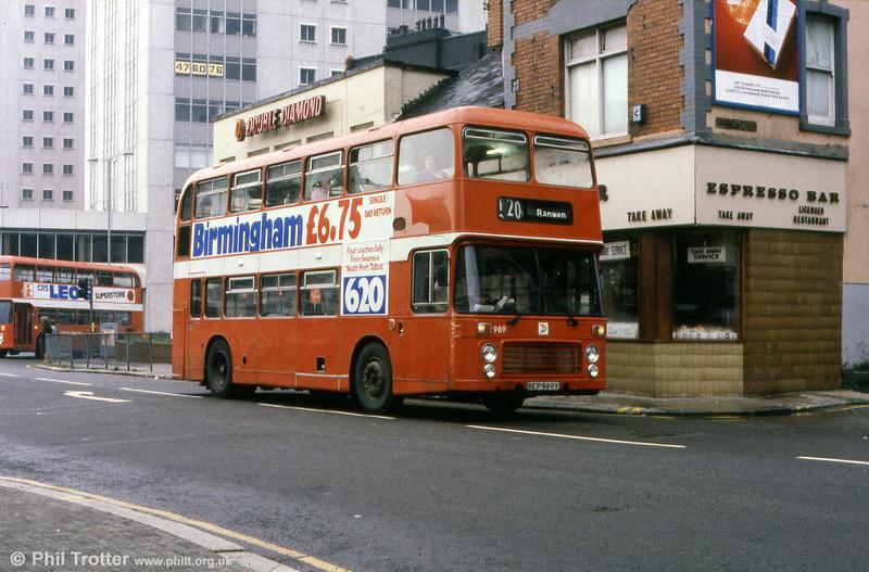 Bristol VRT SL3/ECW H43/31F 969 (BEP 969V).