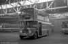 AEC Regent V/Willowbrook H37/27F 869 (CCY 989C) at Ravenhill during the farewell tour of December 19th 1981.