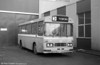 Ford R1014/Duple B43F 266 (NCY 266R) cut down for use as a towing bus at Ravenhill.