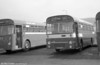 AEC Reliance/Willowbrook B45F 218 (YWN 555J) at Port Talbot.