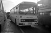 102 (LCY 102X), a 1981 Leyland Leopard/Willowbrook 003 C49F at Swansea, prior to branding being applied.