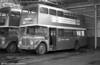 1964 AEC Regent V/Weymann H39/32F 591 (424 HCY) at Llanelli depot.