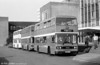 906 (C906 FCY) a 1985 Leyland Olympian/ECW H45/30F at Swansea University. This was a conference contract, and the first outing for the Olympians when new,