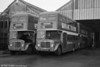 AEC Regent V/Willowbrook H37/27F 861 and 869 (CCY 981/9C) at Brunswick St.