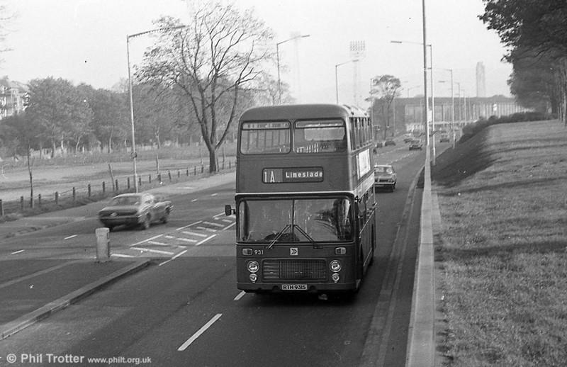 Bristol VRT SL3/ECW CO43/31F 931 (RTH 931S) at Brynmill.