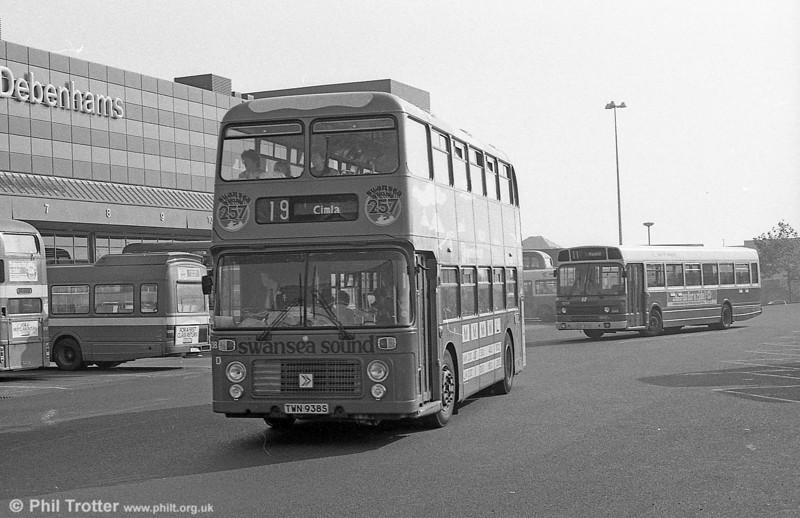 Bristol VRT SL3/ECW H43/31F 938 (TWN 938S) in its second Swansea Sound livery.