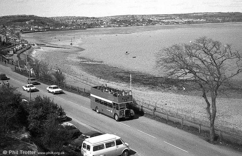 1953 Bristol KSW5G/ECW O33/28R 500 (WNO 484) at Knabb Rock.