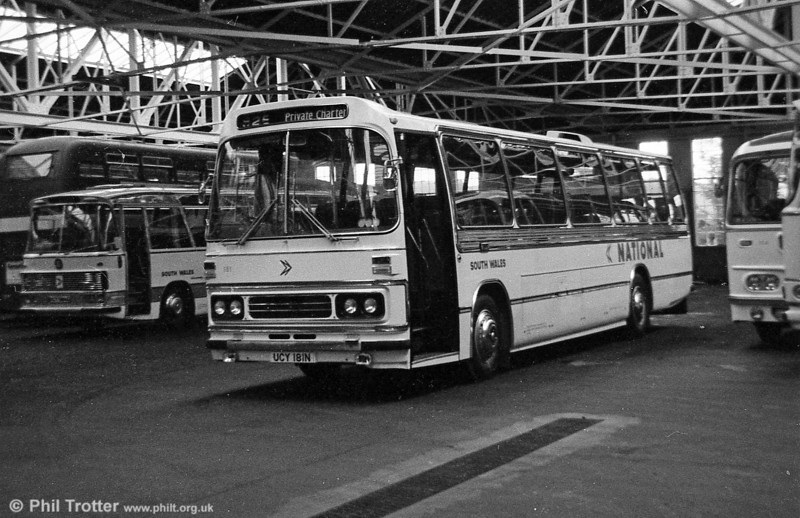 181 (TCY 181M) was an AEC Reliance/Duple C49F purchased in 1974.