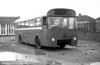Seen after withdrawal is 422 (DNY 132C), an AEC Reliance/Weymann B53F ex-Thomas Bros at Port Talbot.