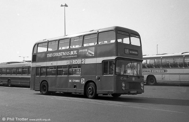 Bristol VRT SL3/ECW CO43/31F 931 (RTH 931S) at Swansea.