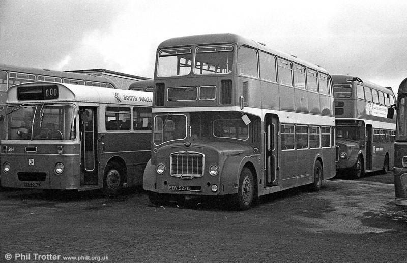 EDV 527D Bristol FLF6G / ECW H38/32F formerly Western National 2115.