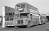 AEC Regent V/Willowbrook H37/27F 886 (GWN 864D) at Brunswick St.