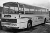 169 (PTG 239F), an AEC Reliance 6MU4R / Duple (Northern) C49F ex Thomas Bros., Port Talbot and formerly named 'Afan Commander'.